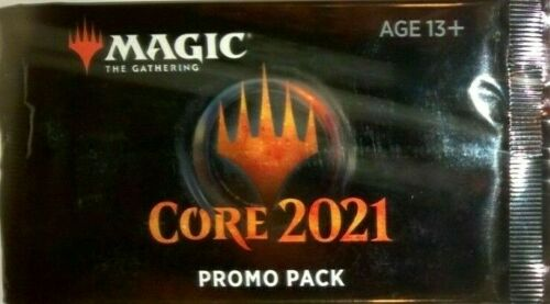 the Gathering MTG CORE 2021 EXCLUSIVE PROMO BOOSTER PACK Magic