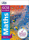 GCSE Maths Higher In a Week (Letts GCSE 9-1 Revision Success) by Letts GCSE, Fiona Mapp (Paperback, 2016)
