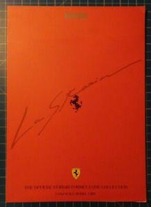 Ferrari The Official Ferrari Formula One Collection Katalog Faltblatt H5246 Ebay