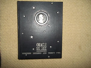 1932-BAY-VIEW-HIGH-SCHOOL-YEARBOOK-MILWAUKEE-WISCONSIN-ORACLE