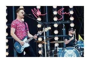 Royal-Blood-A4-signed-photograph-picture-poster-Choice-of-frame