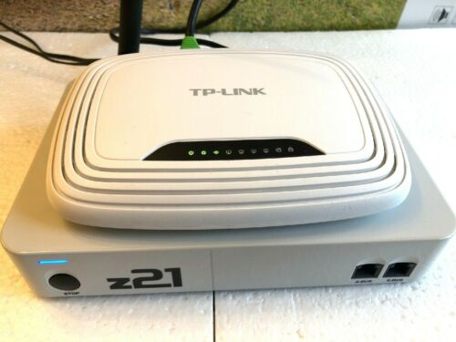 NEW Z21 DIGITAL CONTROL SYSTEM AND WI-FI ROUTER,MANUAL,COMPLETE