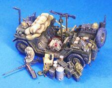 Legend 1/35 M151 MUTT Jeep Stowage and Accessories Set in Vietnam War LF1051