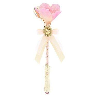 Disney Deluxe Princess Belle Light Up Flower Wand Beauty & the Beast NWT !