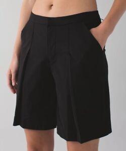 ac5db3457 Image is loading Lululemon-Athletic-Long-Story-Short-Shorts-Womens-Size-