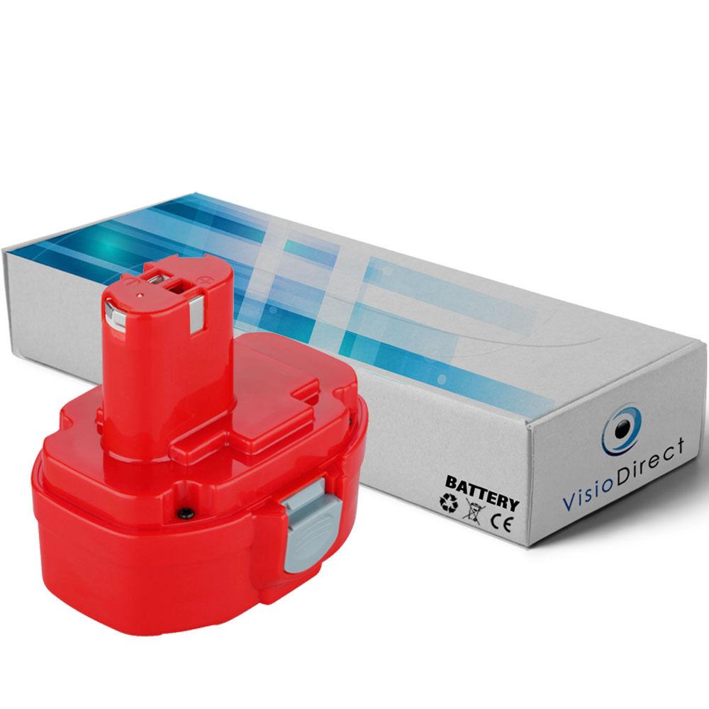 Batterie 14.4V 3000mAh pour MAKITA 8433DWFE - Société Française -