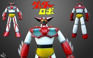 Getta Robot Robot Getter 50 cm de modèle Mega Soft en vinyle, collection modèle no 9