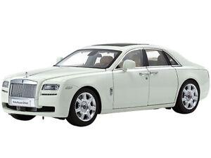 Rolls Royce Ghost anglais blanc 1/18 Diecast voiture modèle par Kyosho 08802 EW