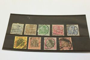 1900 German Empire ' Reichpost ' Selection