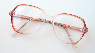 AnpassungsfäHig Kassenbrille Vintagegestell Brille Brillenfassung Frauen Rotbraun Klar Grösse M