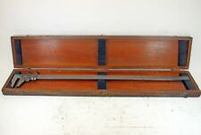 Brown Amp Sharpe 25 No 570 Inside Outside Vernier Caliper With Storage Box