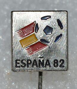 Spain-Espana-82-FIFA-Football-World-Cup-1982-Soccer-Official-Logo-pin-badge-RARE