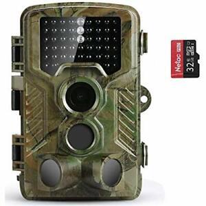 Caméra Infrarouge Nocturne HD Nature Animaux Chasse  Surveillance Étanche  LED