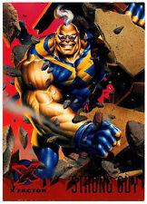 Strong Guy #111 Marvel '95 Fleer Ultra X-Men Trade Card (C294)