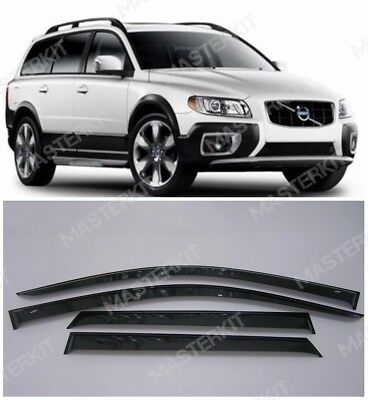 Deflectors For Volvo XC70 Windows Rain Sun Visors Weather shields 2007-2016