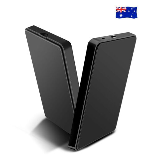 "Premium USB 3.0 External 2.5/"" SATA SSD HDD Hard Disc Drive Enclosure Case AU OZ"