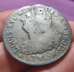 Monnaie Royale - 2 Sols LOUIS XVI - 1792 R/Orléans