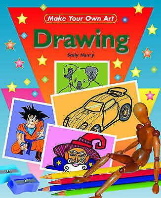 1 of 1 - Henry, Sally, Drawing (Make Your Own Art), Very Good Book