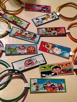 12 Sets Teen Titans Go Birthday Party Favor Bracelets W Custom Tag