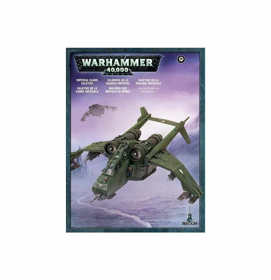 Warhammer 40k - astra militarum walküre - brand new in box - 47-10