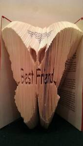 Special Friend Folded Book Art Folding PATTERN ONLY #1208