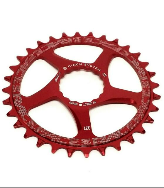 RaceFace Narrow Wide Chainring, Direct Mount CINCH, 32t, Red