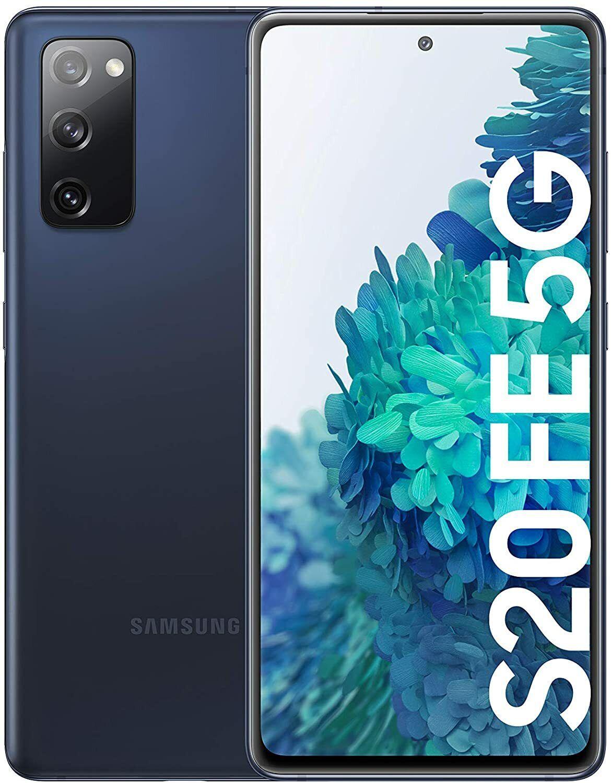 Samsung Galaxy: Samsung Galaxy S20 FE 5G, SIM+Hybrid SIM, Blu, 128GB 6GB, Garanzia Ufficiale