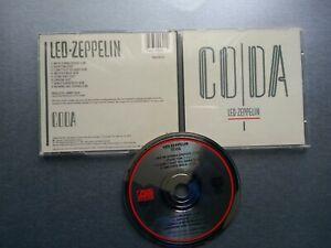 Led Zeppelin - CODA  (CD -  8 TRACKS)........£4.95..  FREEPOST