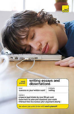 """""""AS NEW"""" Teach Yourself Writing Essays and Dissertations, Hutchison, Hazel, Book"""