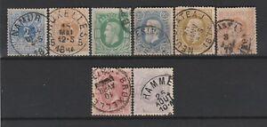 FRANCOBOLLI-1869-78-BELGIO-LEOPOLDO-II-Z-9297