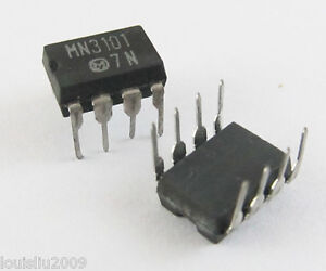 5-Pcs-MN3101-MN-3101-New-IC-Chip-BBD-DIP-8-Pin