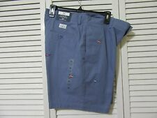 Vineyard Vines Bermuda shorts, 34, NWT, evening blue, whale embroidered print