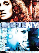 CSI: New York - Season 3 (DVD, 2007, 6-Disc Set) Nearly New