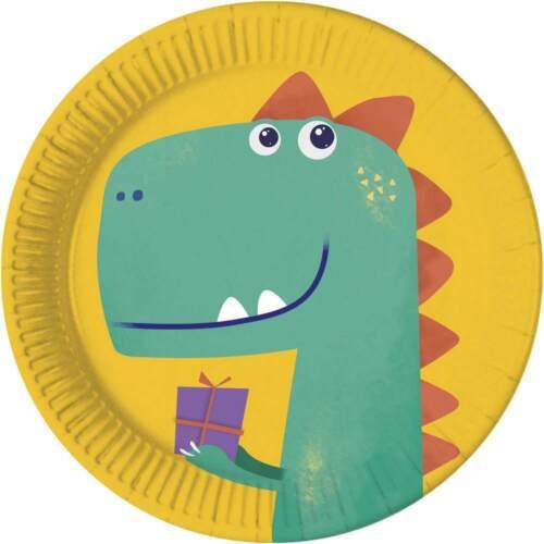 Children/'s Birthday Party Decoration Celebration Fete theme Dinosaur Dino