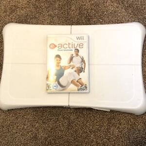 Wii Fit Balance Board Nintendo Exercise Fitness Controller with EA Sports Active