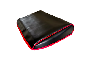 Amiga-600-Faux-Leather-BLACK-Dust-Cover-Stylish