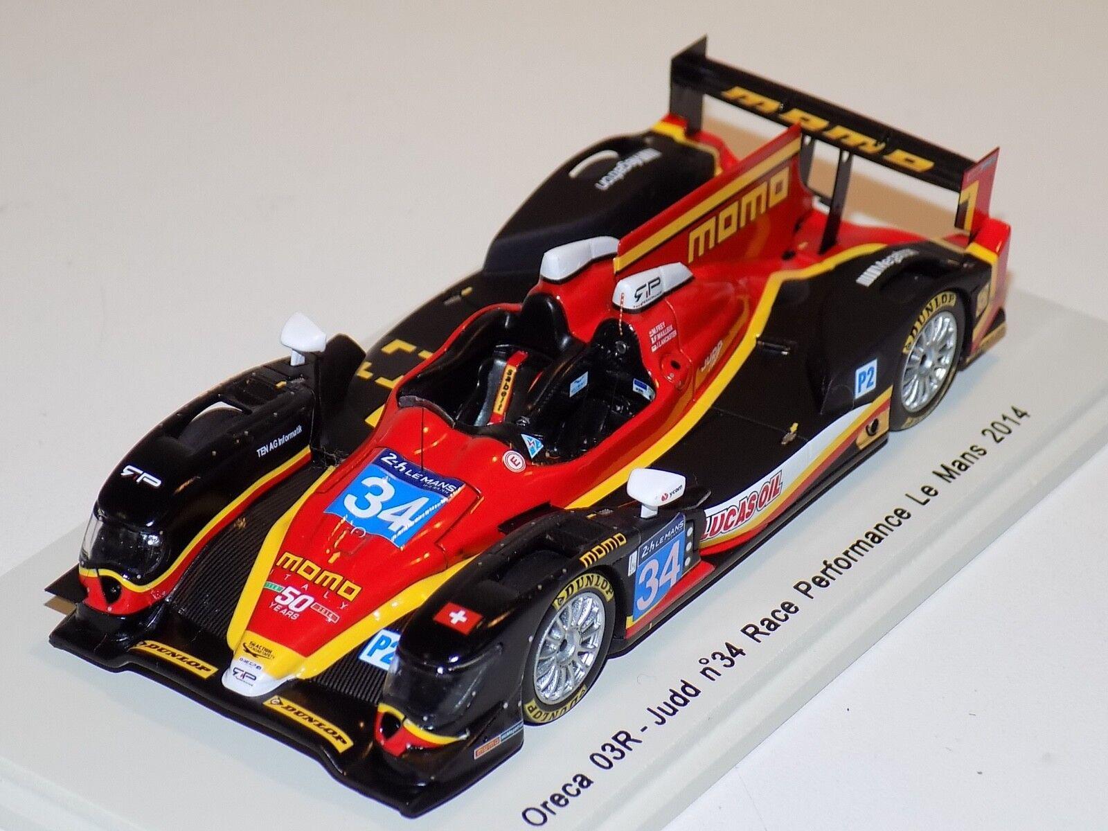 1 43 Spark Oreca 03R Judd  car Hours of LeMans S4215