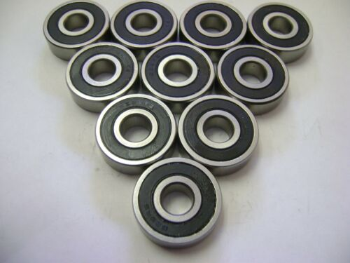 10 NMD 628-2RS Bearings 8x24x8 ID=8mm OD=24mm WIDTH=8mm 8-24-8
