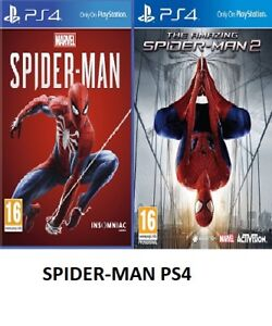 PS4-Spiderman-PS4-SPIDER-MAN-PS4-assortiti-compra-1-o-entrambi-Menta-consegna-super-veloce