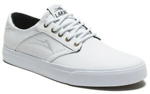 Lakai-Shoes-Porter-White-Canvas-USA-SIZE-Skateboard-Sneakers