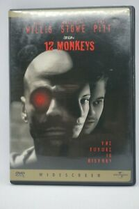 12-MONKEYS-COLLECTOR-039-S-EDITION-DVD-Bruce-Willis-Brad-Pitt