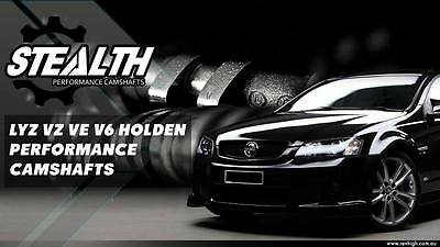 213/213 Holden Stealth Performance Camshaft cams VZ VE Alloytec 3 6L V6 LY7  | eBay