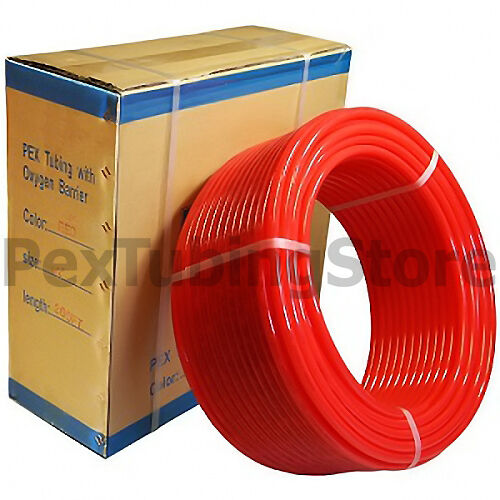 "1/2"" x 300ft PEX Tubing O2 Oxygen Barrier Radiant Heat"