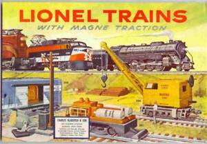 1956 LIONEL TRAINS CONSUMER CATALOG MINT