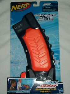 Nerf Super Soaker Banana Water Refill Clip Wars Gun Pool Game Toy
