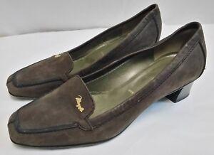 pretty nice e3ad4 8cc10 Dettagli su scarpe donna Bruno Magli vera pelle misura 38 altezza tacco cm 4