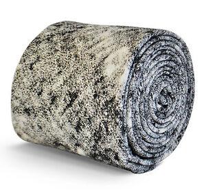 Frederick-Thomas-oomo-cotone-LINO-CRAVATTA-CON-nero-e-bianco-motivo-ft3093