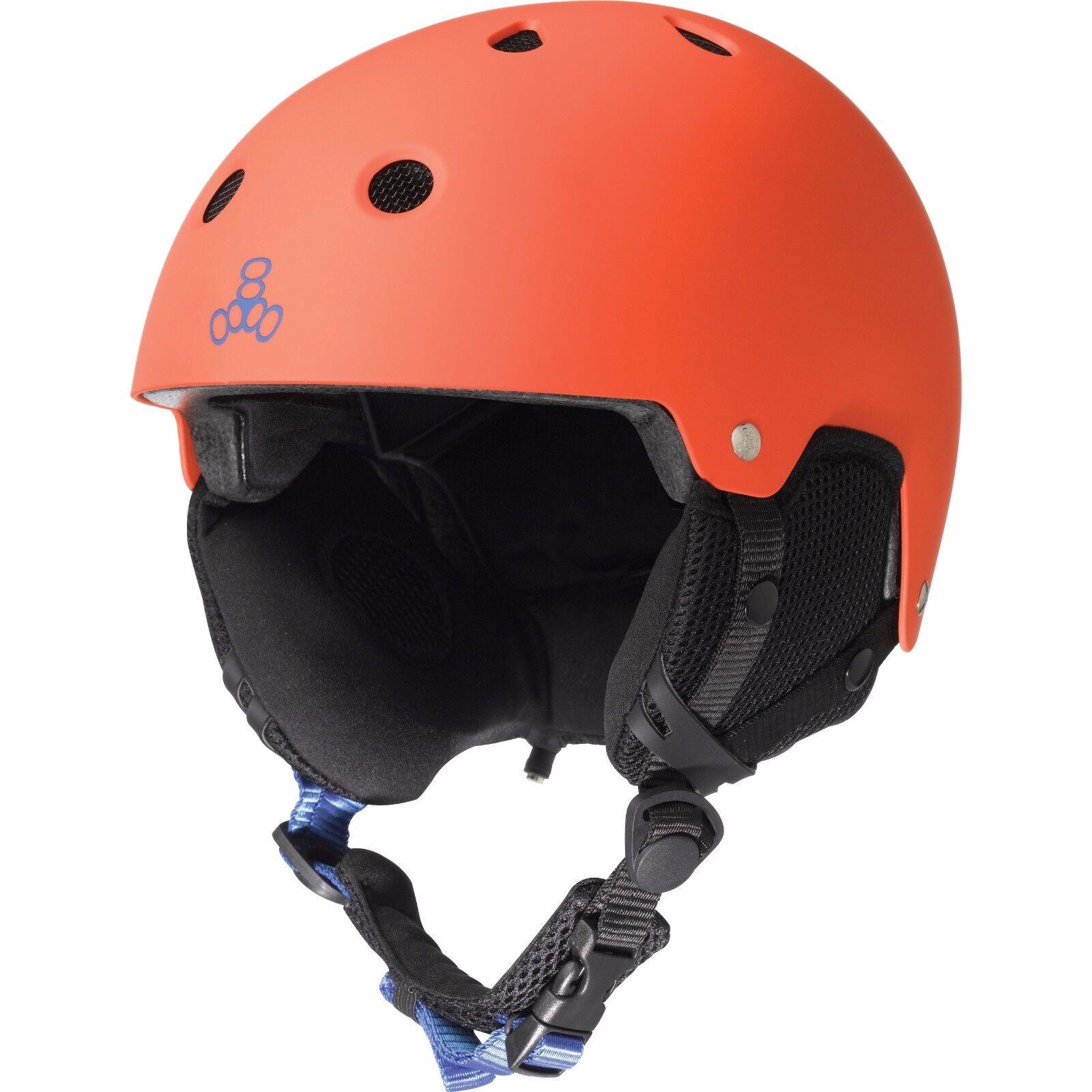 Triple8 Brainsaver Rubber Snow Audio Predective Helmet Various Colours & Sizes