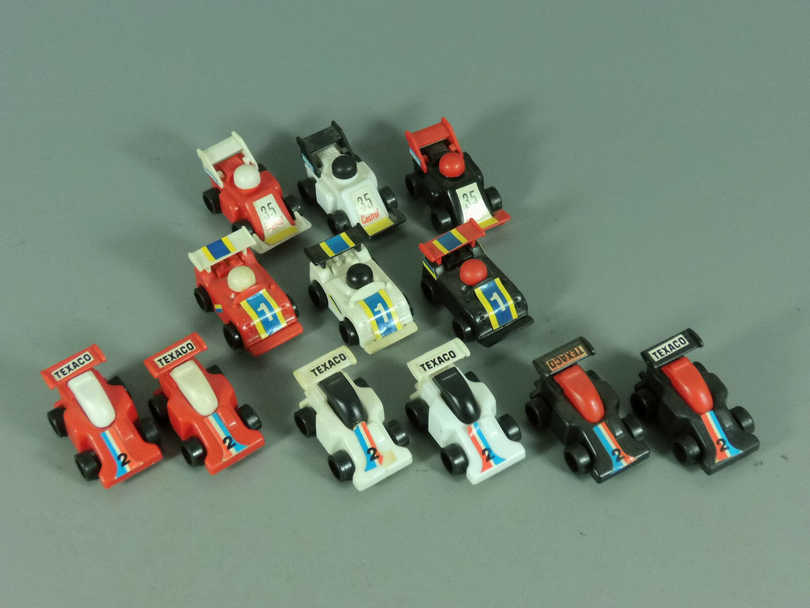 Cars  Grand Prix Formula 1 1987 - all 9 Colours + all 3 Variations Bl Red