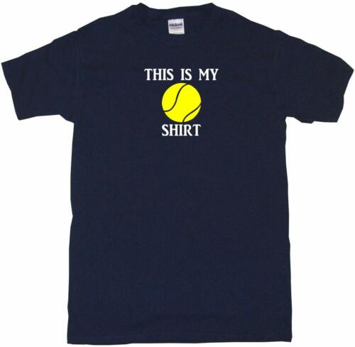 This is my Tennis Ball shirt Mens Tee Shirt Pick Size Color Small-6XL
